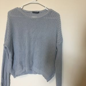 Brandy Melville light blue sweater